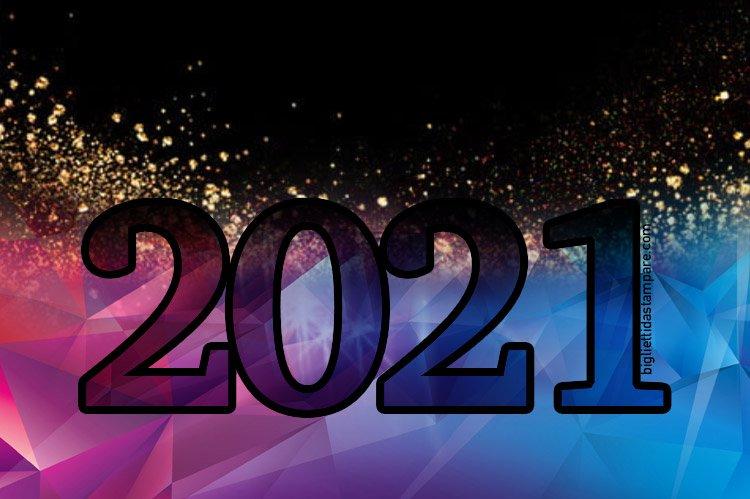 auguri per capodanno 2021