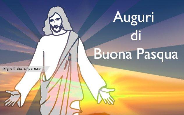 Auguri religiosi per Pasqua
